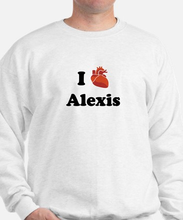 I (Heart) Alexis Sweater