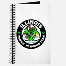 Illinois Zombie Response Tea Green Journal