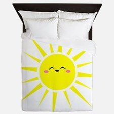 Happy Sun Queen Duvet