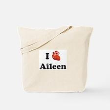 I (Heart) Aileen Tote Bag