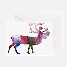 Unique Color winter Greeting Card