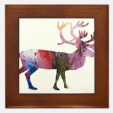 Caribou Framed Tile