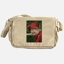 HRH QUEEN ELIZABETH II Messenger Bag