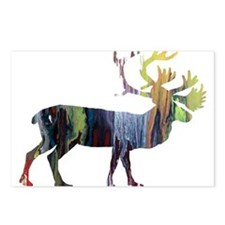 Caribou Postcards (Package of 8)