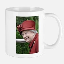 HRH QUEEN ELIZABETH II Mugs