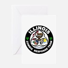 IL ZRT White Greeting Cards