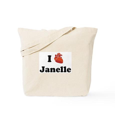 I (Heart) Janelle Tote Bag