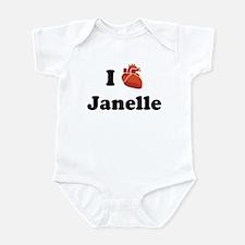 I (Heart) Janelle Onesie