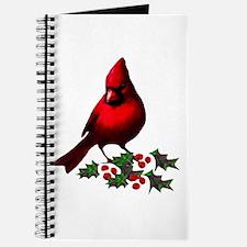 Christmas Cardinal Journal