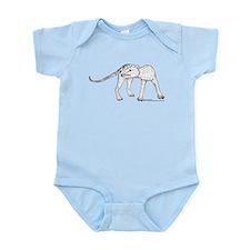 Thylacine Turning Infant Bodysuit