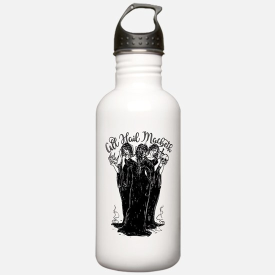 Witches All Hail Macbeth Water Bottle