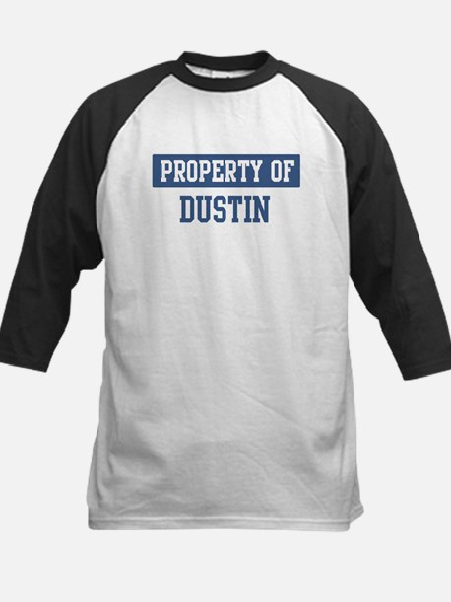 Property of DUSTIN Kids Baseball Jersey