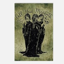 Witches All Hail Macbeth Postcards (Package of 8)