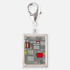 Cute Fiction Silver Portrait Charm
