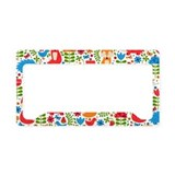 Patterns License Plate Frames