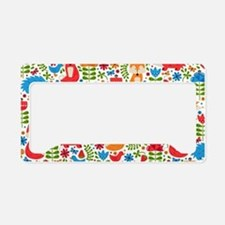 Unique Animal pattern License Plate Holder