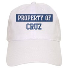 Property of CRUZ Baseball Cap