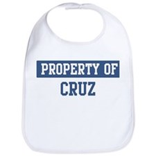 Property of CRUZ Bib