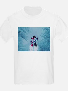 Snowman Couple T-Shirt