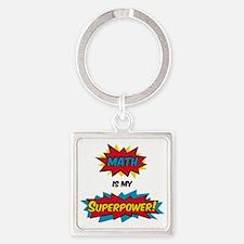 Unique Comic humor Square Keychain