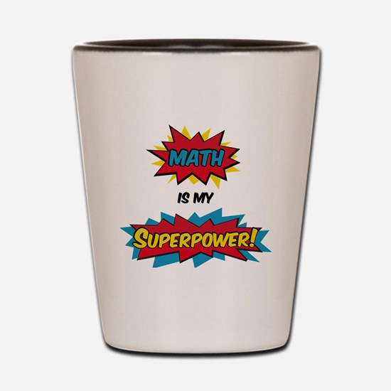 Cute Superhero Shot Glass