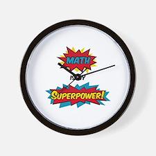 Cute Superhero Wall Clock