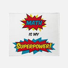 Cute Superhero Throw Blanket