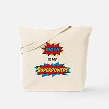 Unique Superhero book Tote Bag