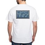 US 1945 Salute to US Navy White T-Shirt Navy gift