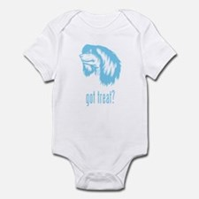 Chinese Crested Powderpuff Infant Bodysuit