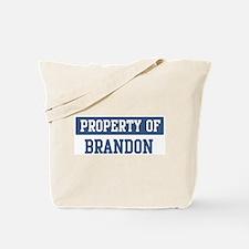 Property of BRANDON Tote Bag