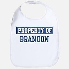 Property of BRANDON Bib