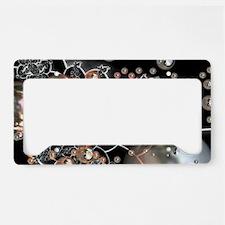 Rustic Pearls License Plate Holder