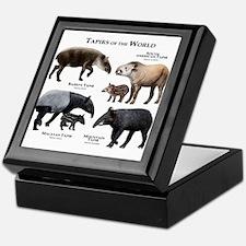 Tapirs of the World Keepsake Box