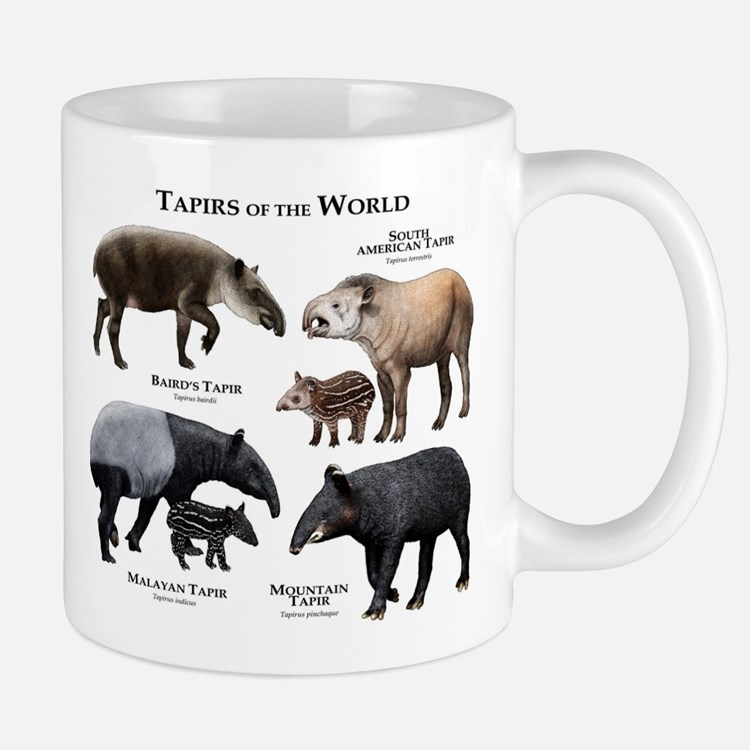 Tapirs of the World Mug