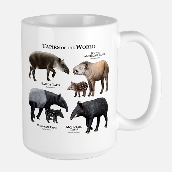 Tapirs of the World Large Mug