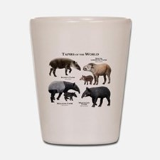 Tapirs of the World Shot Glass