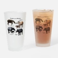 Tapirs of the World Drinking Glass