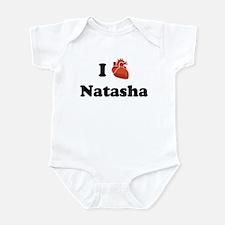 I (Heart) Natasha Infant Bodysuit