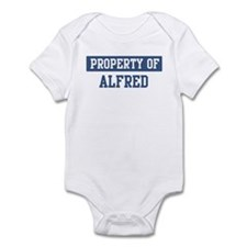 Property of ALFRED Infant Bodysuit