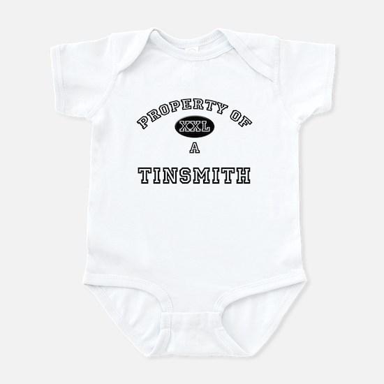 Property of a Tinsmith Infant Bodysuit