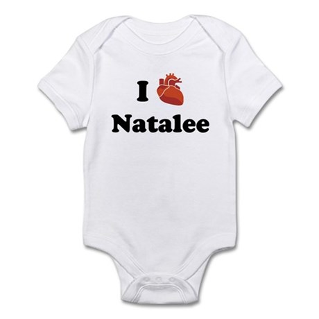 I (Heart) Natalee Infant Bodysuit