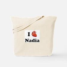 I (Heart) Nadia Tote Bag