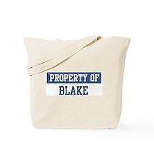 Property of BLAKE Tote Bag
