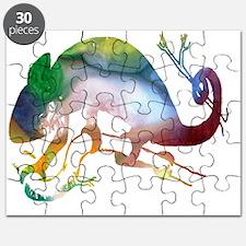 Cool Chameleon Puzzle