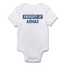 Property of AHMAD Infant Bodysuit