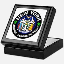 NY ZRT White Keepsake Box