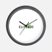 Elite 420 Logo Wall Clock