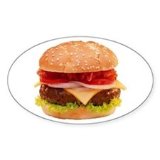 yummy cheeseburger photo Decal
