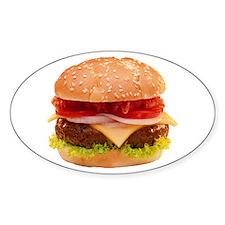 yummy cheeseburger photo Stickers